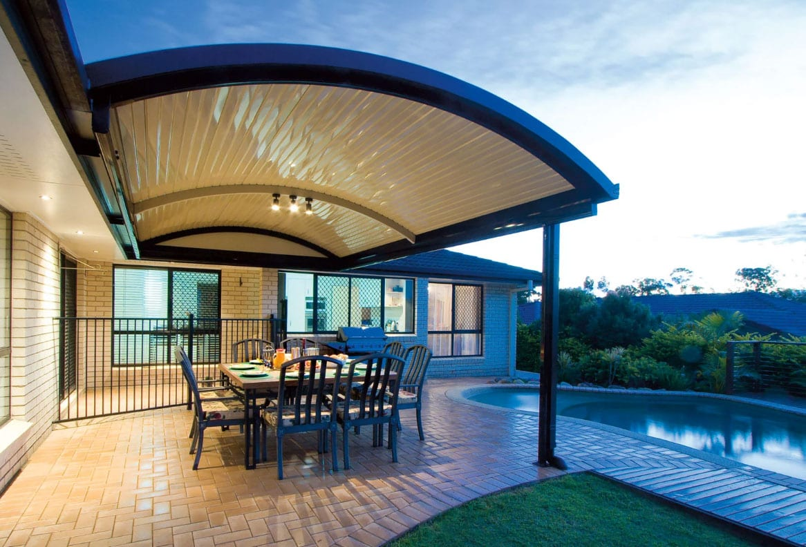 Curved Patio Design