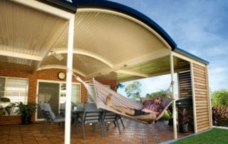 Stratco Patios by Aussie Patio Designs Curved Patio