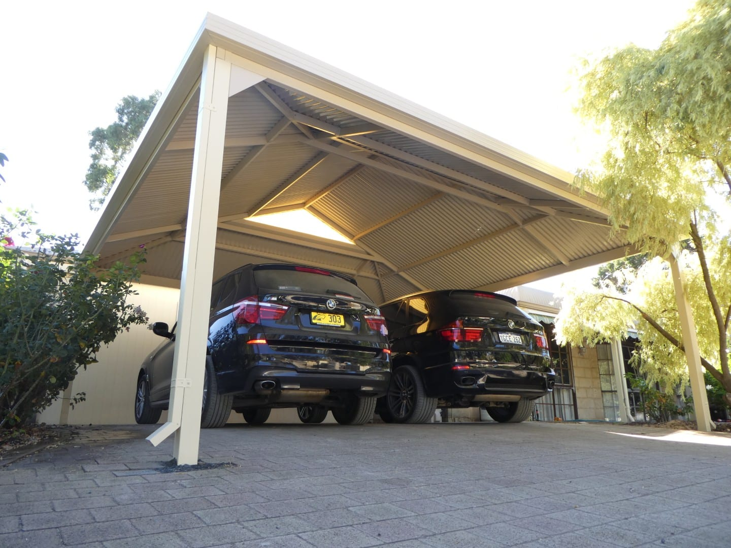 Gable Patio Carport
