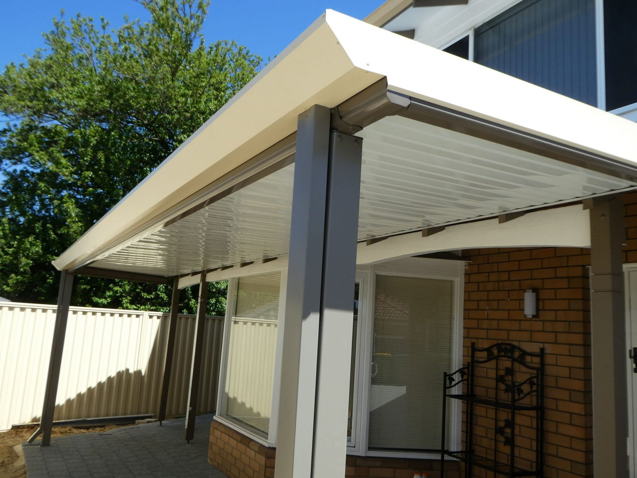 Stratco 174 Outback Flat Patios And Pergolas Aussie Patio