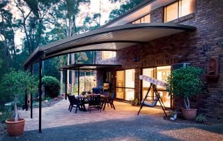 Curved Patio By Aussie Patio Designs