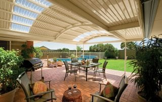 Stratco Patios by Aussie Patio Designs Curved design
