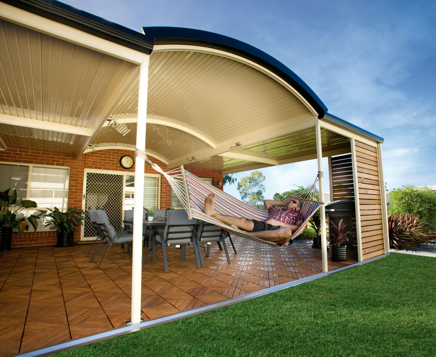 Stratco® Outback Curved Patios in Perth | Aussie Patio Designs on Curved Patio Ideas id=75510
