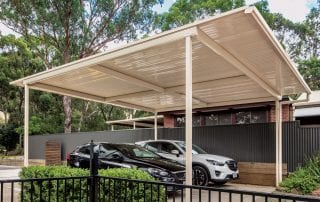 Stratco Patios by Aussie Patio Designs Car Port