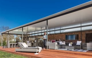 Stratco Patios by Aussie Patio Designs Flat Roof Design