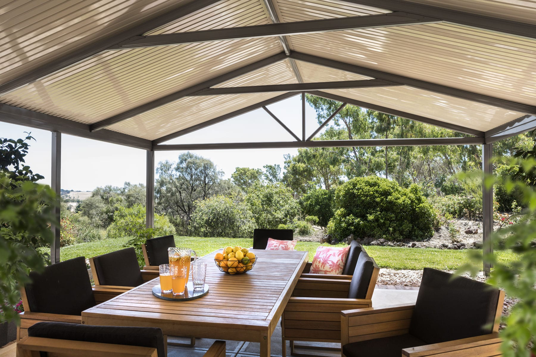 Gable Patio Design Amp Construction Aussie Patio Designs