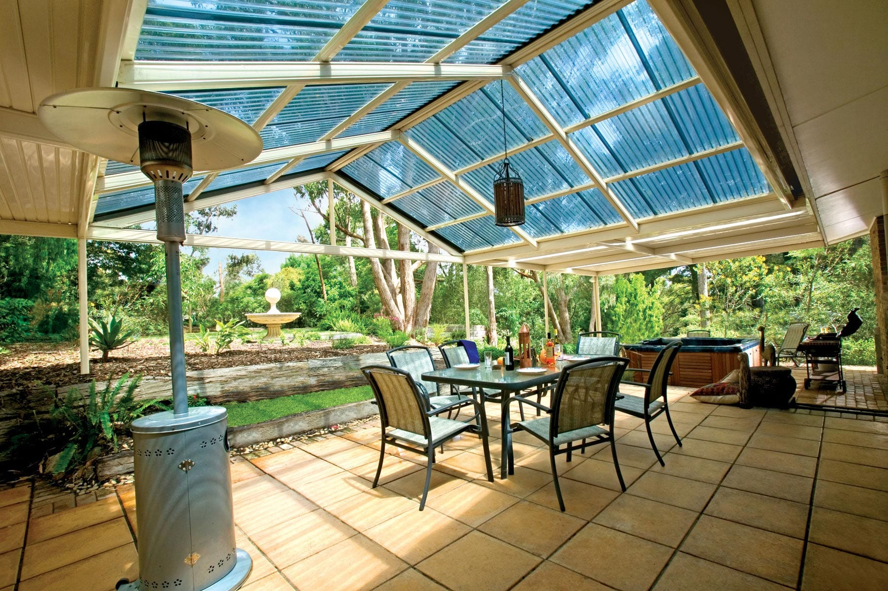 Stratco® Gable Patios and Outdoor Blinds Perth | Aussie ... on Patio Designs  id=61138